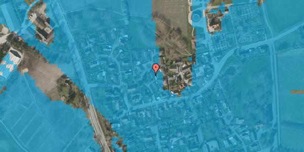 Oversvømmelsesrisiko fra vandløb på Bybakken 6, 2625 Vallensbæk