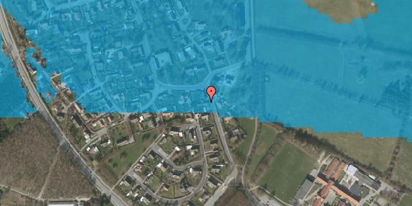 Oversvømmelsesrisiko fra vandløb på Bygaden 9, 2625 Vallensbæk