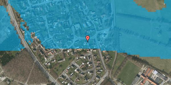 Oversvømmelsesrisiko fra vandløb på Bygaden 13, 2625 Vallensbæk