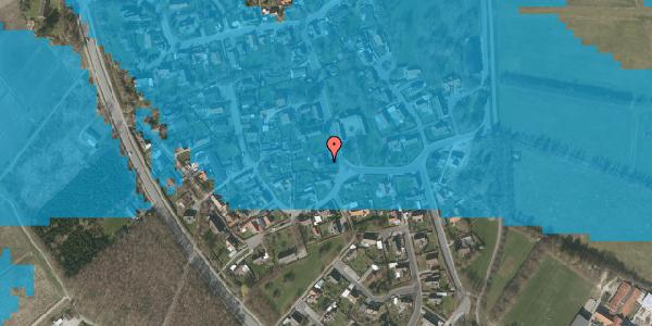 Oversvømmelsesrisiko fra vandløb på Bygaden 17, 2625 Vallensbæk