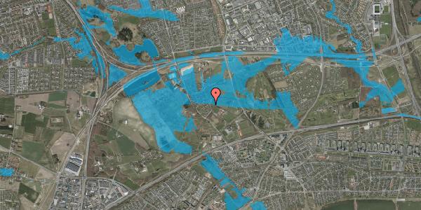 Oversvømmelsesrisiko fra vandløb på Bygaden 20, 2625 Vallensbæk