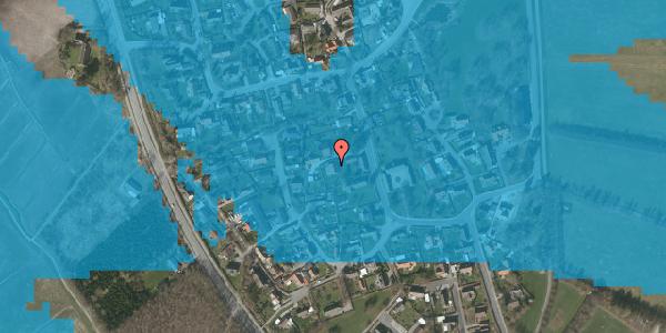 Oversvømmelsesrisiko fra vandløb på Bygaden 23, 2625 Vallensbæk