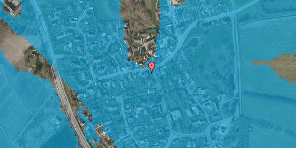 Oversvømmelsesrisiko fra vandløb på Bygaden 35, 2625 Vallensbæk