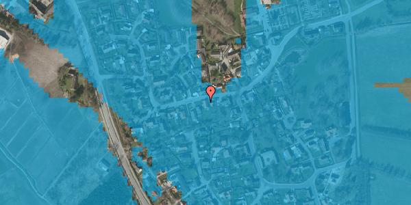 Oversvømmelsesrisiko fra vandløb på Bygaden 37, 2625 Vallensbæk