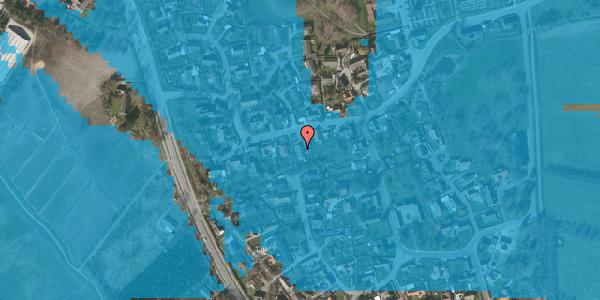 Oversvømmelsesrisiko fra vandløb på Bygaden 39, 2625 Vallensbæk