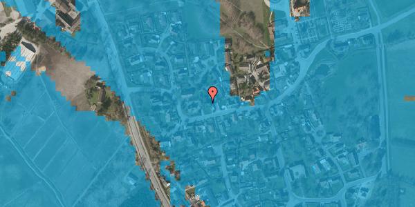 Oversvømmelsesrisiko fra vandløb på Bygaden 40, 2625 Vallensbæk