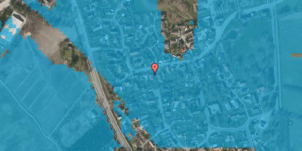 Oversvømmelsesrisiko fra vandløb på Bygaden 41, 2625 Vallensbæk