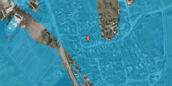 Oversvømmelsesrisiko fra vandløb på Bygaden 42, 2625 Vallensbæk