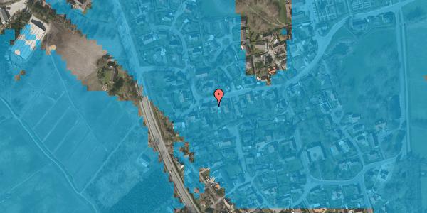 Oversvømmelsesrisiko fra vandløb på Bygaden 43, 2625 Vallensbæk