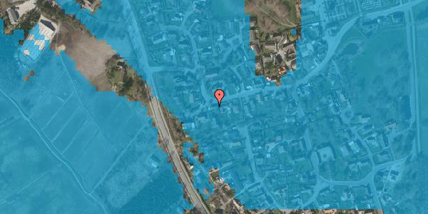 Oversvømmelsesrisiko fra vandløb på Bygaden 45, 2625 Vallensbæk