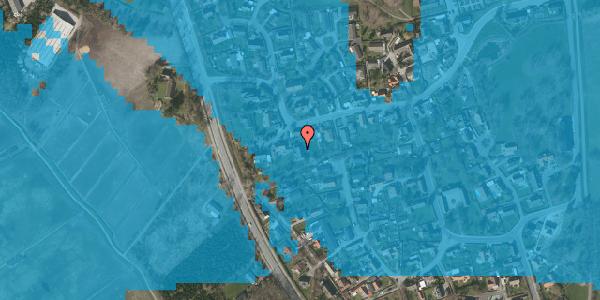 Oversvømmelsesrisiko fra vandløb på Bygaden 47, 2625 Vallensbæk