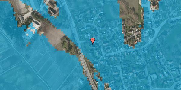 Oversvømmelsesrisiko fra vandløb på Bygaden 57, 2625 Vallensbæk