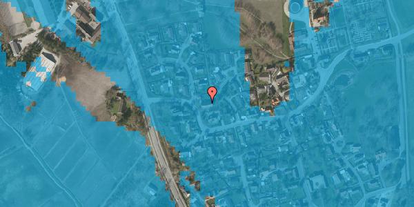 Oversvømmelsesrisiko fra vandløb på Bysvinget 2A, 2625 Vallensbæk