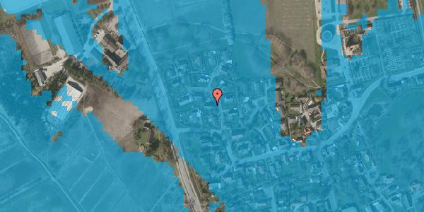 Oversvømmelsesrisiko fra vandløb på Bysvinget 3, 2625 Vallensbæk