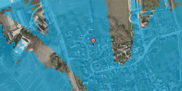 Oversvømmelsesrisiko fra vandløb på Bysvinget 4, 2625 Vallensbæk