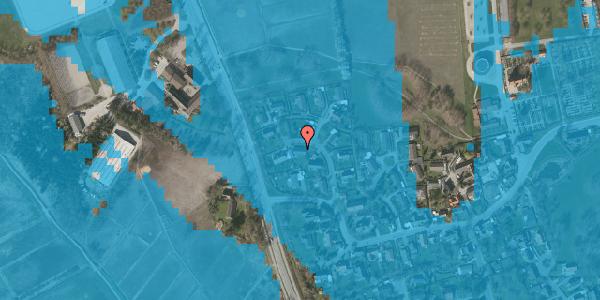 Oversvømmelsesrisiko fra vandløb på Bysvinget 5, 2625 Vallensbæk
