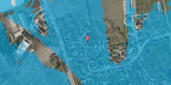 Oversvømmelsesrisiko fra vandløb på Bysvinget 6, 2625 Vallensbæk