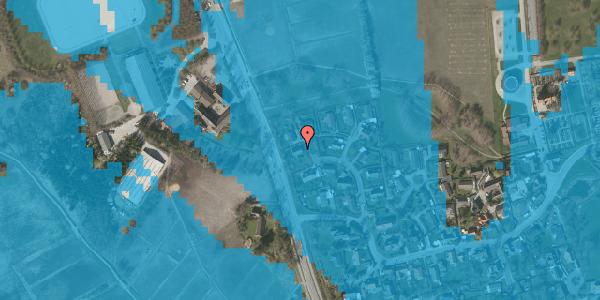 Oversvømmelsesrisiko fra vandløb på Bysvinget 9, 2625 Vallensbæk