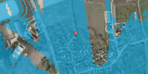 Oversvømmelsesrisiko fra vandløb på Bysvinget 10, 2625 Vallensbæk
