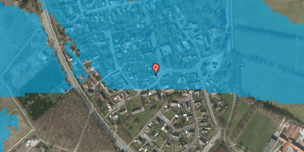 Oversvømmelsesrisiko fra vandløb på Engvej 2, 2625 Vallensbæk