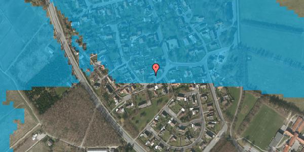Oversvømmelsesrisiko fra vandløb på Engvej 4, 2625 Vallensbæk