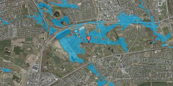 Oversvømmelsesrisiko fra vandløb på Engvej 11, 2625 Vallensbæk