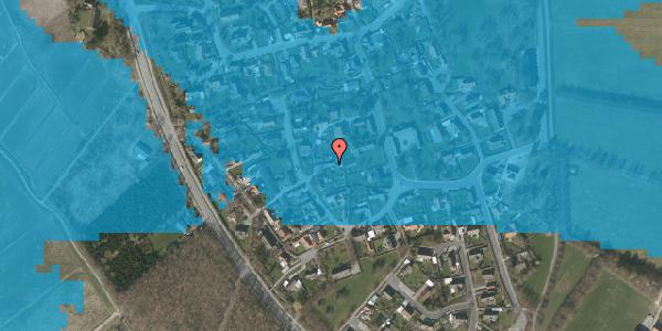 Oversvømmelsesrisiko fra vandløb på Engvej 12, 2625 Vallensbæk
