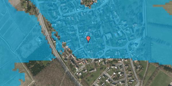 Oversvømmelsesrisiko fra vandløb på Engvej 14, 2625 Vallensbæk