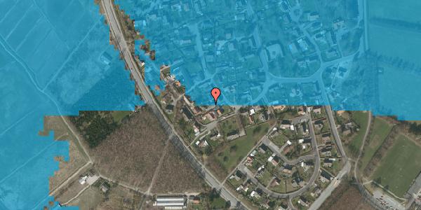 Oversvømmelsesrisiko fra vandløb på Engvej 17, 2625 Vallensbæk