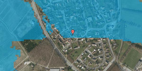 Oversvømmelsesrisiko fra vandløb på Engvej 19, 2625 Vallensbæk