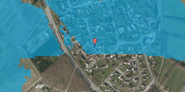 Oversvømmelsesrisiko fra vandløb på Engvej 23, 2625 Vallensbæk