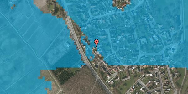 Oversvømmelsesrisiko fra vandløb på Engvej 26, 2625 Vallensbæk