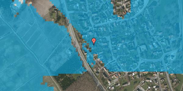 Oversvømmelsesrisiko fra vandløb på Engvej 30, 2625 Vallensbæk