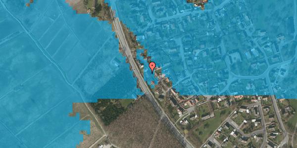 Oversvømmelsesrisiko fra vandløb på Engvej 34, 2625 Vallensbæk
