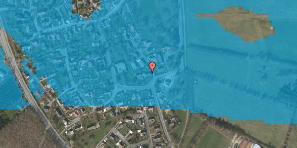 Oversvømmelsesrisiko fra vandløb på Gartnerbakken 1, 2625 Vallensbæk