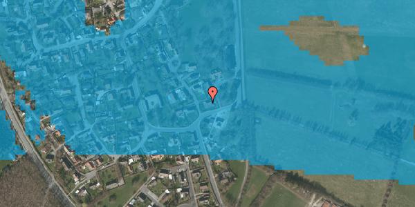 Oversvømmelsesrisiko fra vandløb på Gartnerbakken 2, 2625 Vallensbæk
