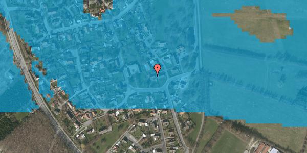 Oversvømmelsesrisiko fra vandløb på Gartnerbakken 3, 2625 Vallensbæk