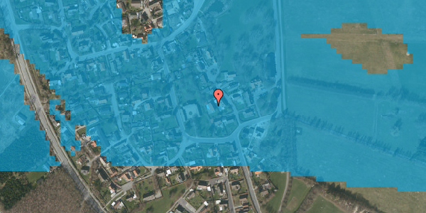 Oversvømmelsesrisiko fra vandløb på Gartnerbakken 7, 2625 Vallensbæk