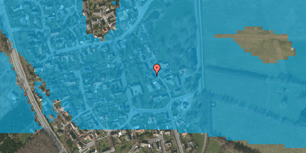 Oversvømmelsesrisiko fra vandløb på Gartnerbakken 9, 2625 Vallensbæk