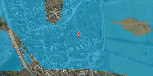 Oversvømmelsesrisiko fra vandløb på Gartnerbakken 11, 2625 Vallensbæk