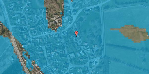 Oversvømmelsesrisiko fra vandløb på Gartnerbakken 15, 2625 Vallensbæk