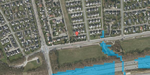 Oversvømmelsesrisiko fra vandløb på Horsbred 7, 2625 Vallensbæk