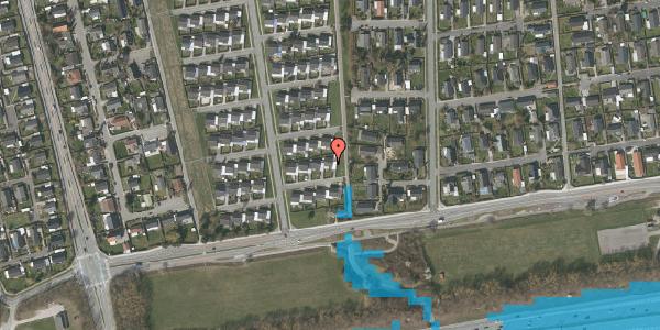 Oversvømmelsesrisiko fra vandløb på Horsbred 16, 2625 Vallensbæk