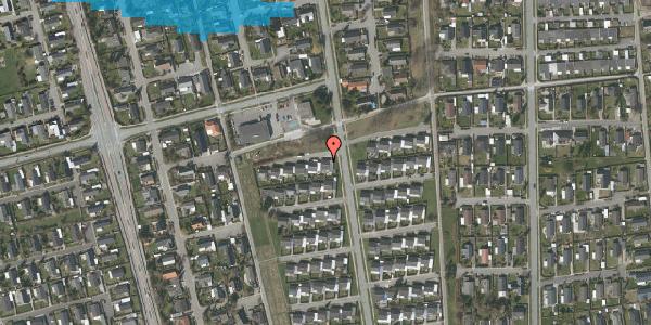 Oversvømmelsesrisiko fra vandløb på Horsbred 113, 2625 Vallensbæk