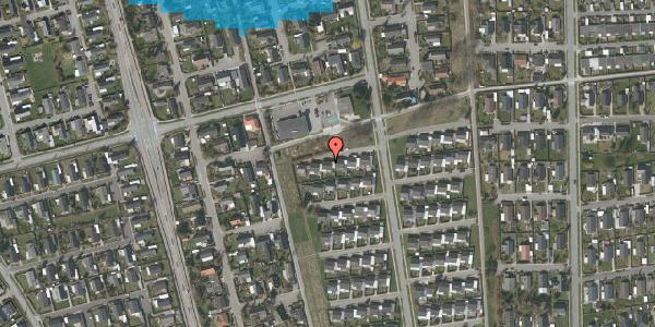 Oversvømmelsesrisiko fra vandløb på Horsbred 119, 2625 Vallensbæk