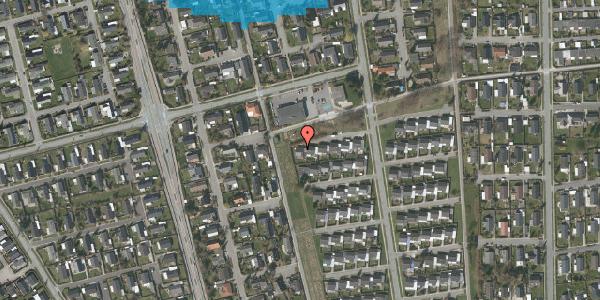 Oversvømmelsesrisiko fra vandløb på Horsbred 123, 2625 Vallensbæk