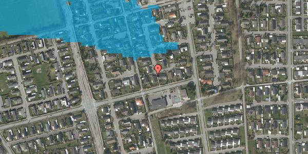 Oversvømmelsesrisiko fra vandløb på Horsbred 157, 2625 Vallensbæk