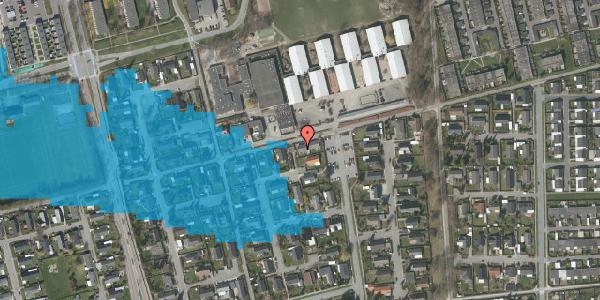 Oversvømmelsesrisiko fra vandløb på Horsbred 181A, 2625 Vallensbæk