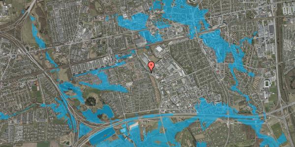 Oversvømmelsesrisiko fra vandløb på Hyrdeengen 1, 2625 Vallensbæk