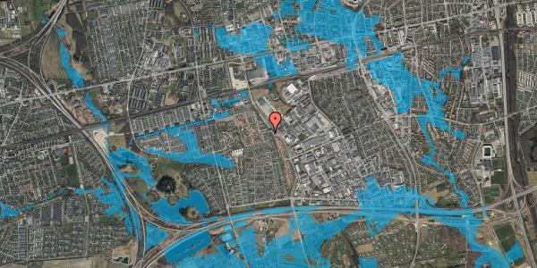 Oversvømmelsesrisiko fra vandløb på Hyrdeengen 7, 2625 Vallensbæk